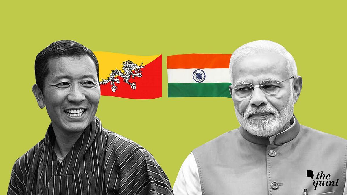 Image of Bhutan PM and Indian PM Modi used for representational purposes.