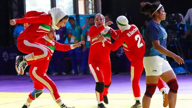 India's kabaddi teams – women and men – were stunned by Iran as they failed to win gold at the Asiad for the first time.