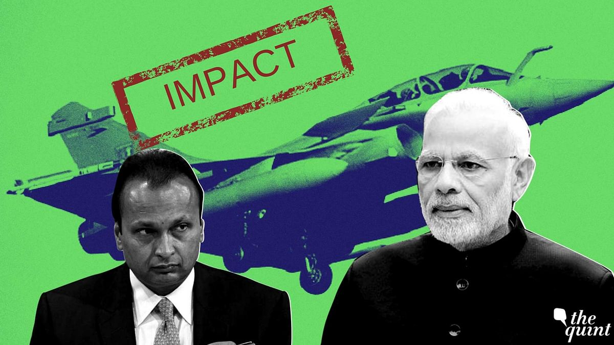 Quint Impact: MoD Officials Under Question Over Rafale Transferred