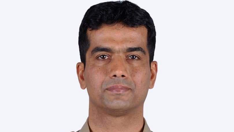 Karnataka cadre IPS officer Madhukar Shetty.