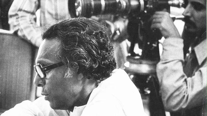 Mrinal Sen, filmmaker.