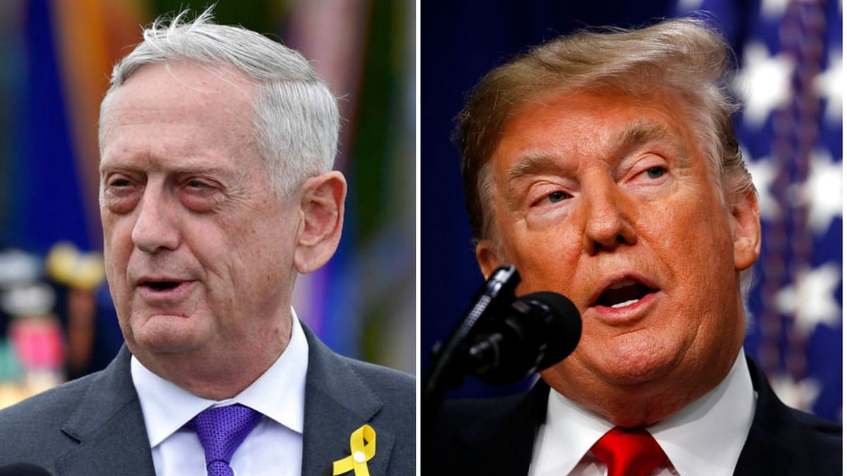 Trump Claims He 'Essentially Fired' Mattis