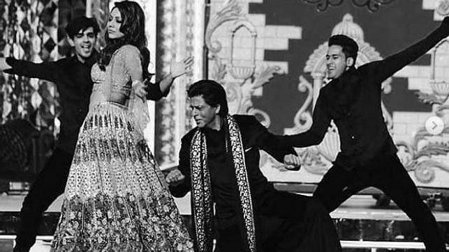 Watch: Shahrukh, Aamir, Salman And More Dance At Ambani Sangeet