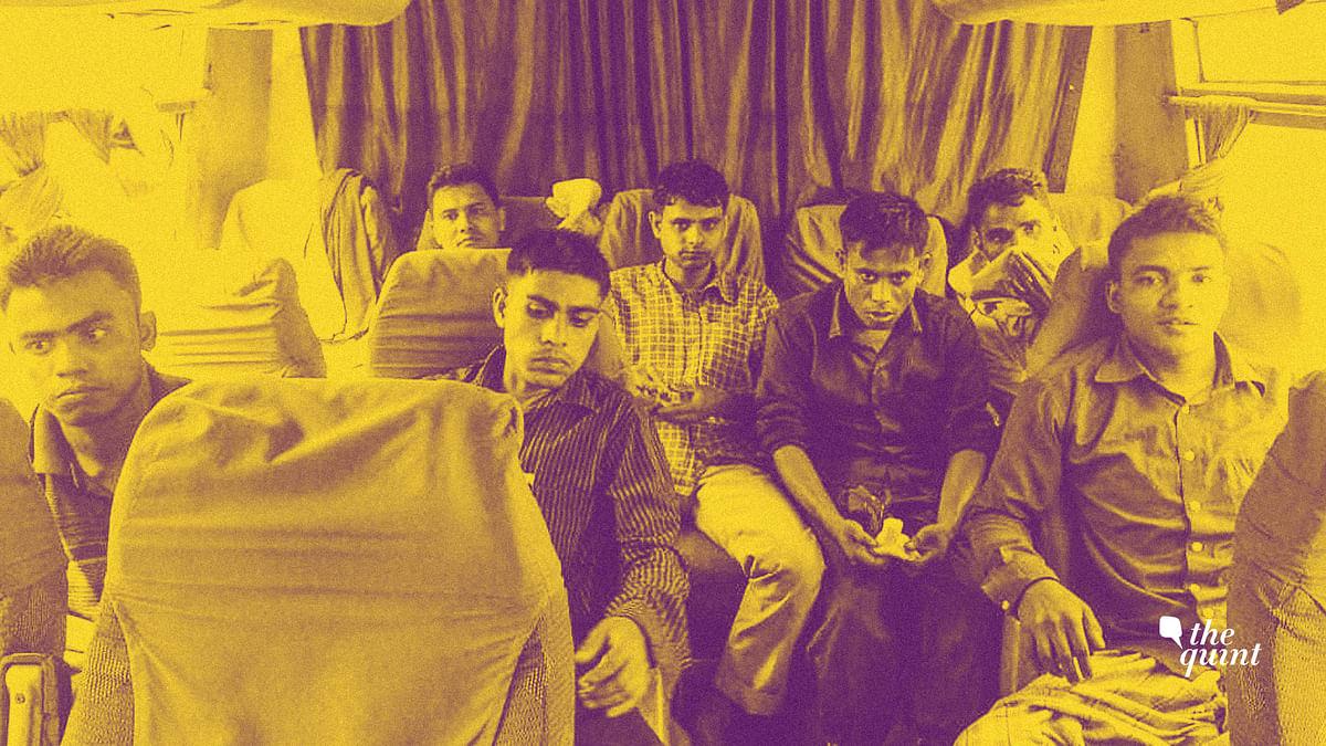 The seven men deported to Myanmar.