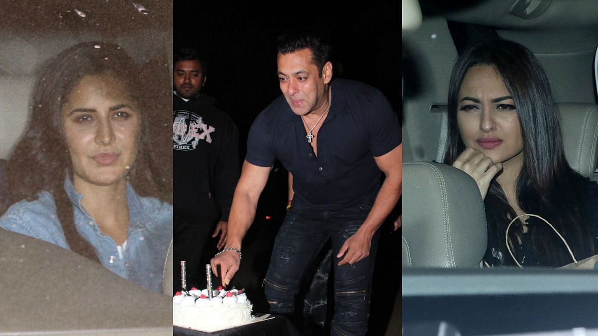 In Pics: Salman Rings in 53rd Birthday With Family and Friends