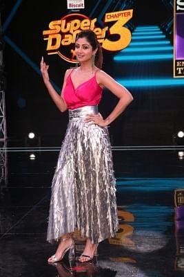 "Mumbai: Actress Shilpa Shetty Kundra at launch of the third season of dance reality television show ""Super Dancer"" in Mumbai, on Dec 19, 2018. (Photo: IANS)"