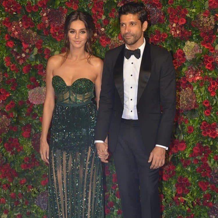 Farhan and Shibani arrive at DeepVeer reception together
