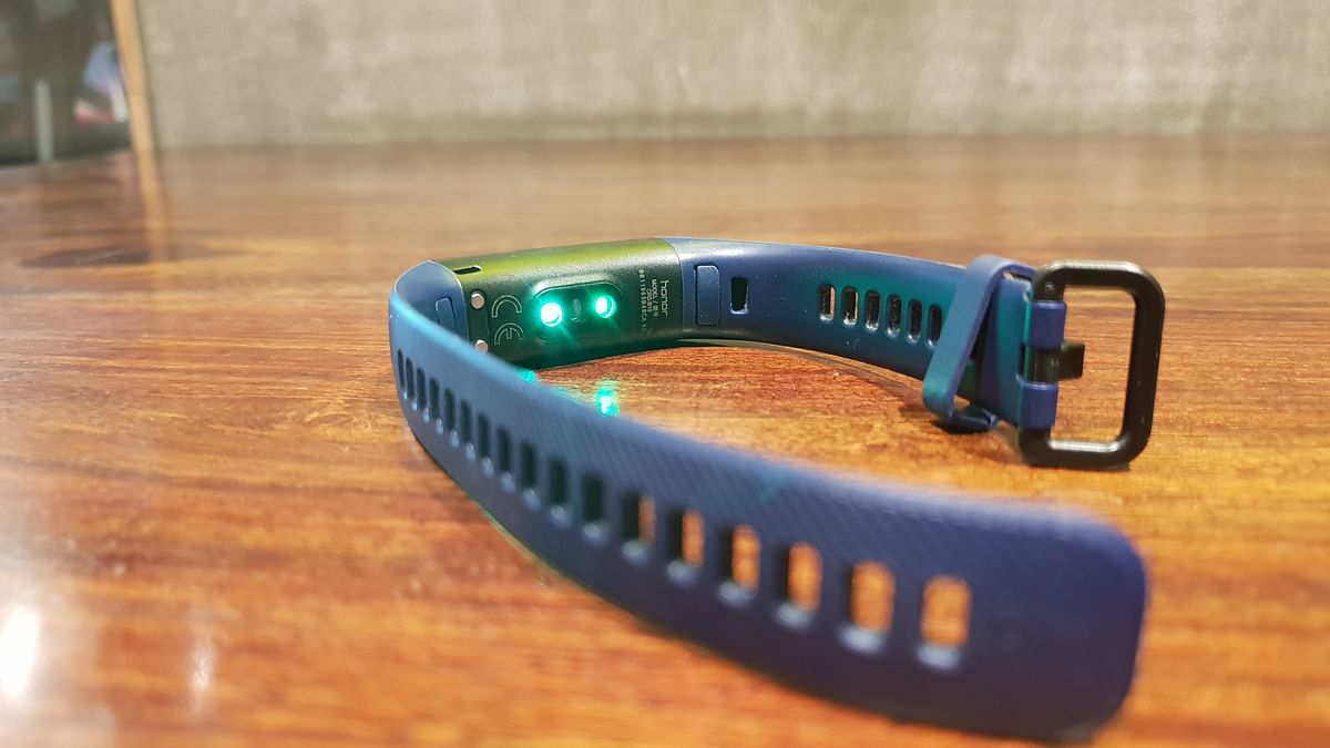 The Honor Band 4 is water-resistant.