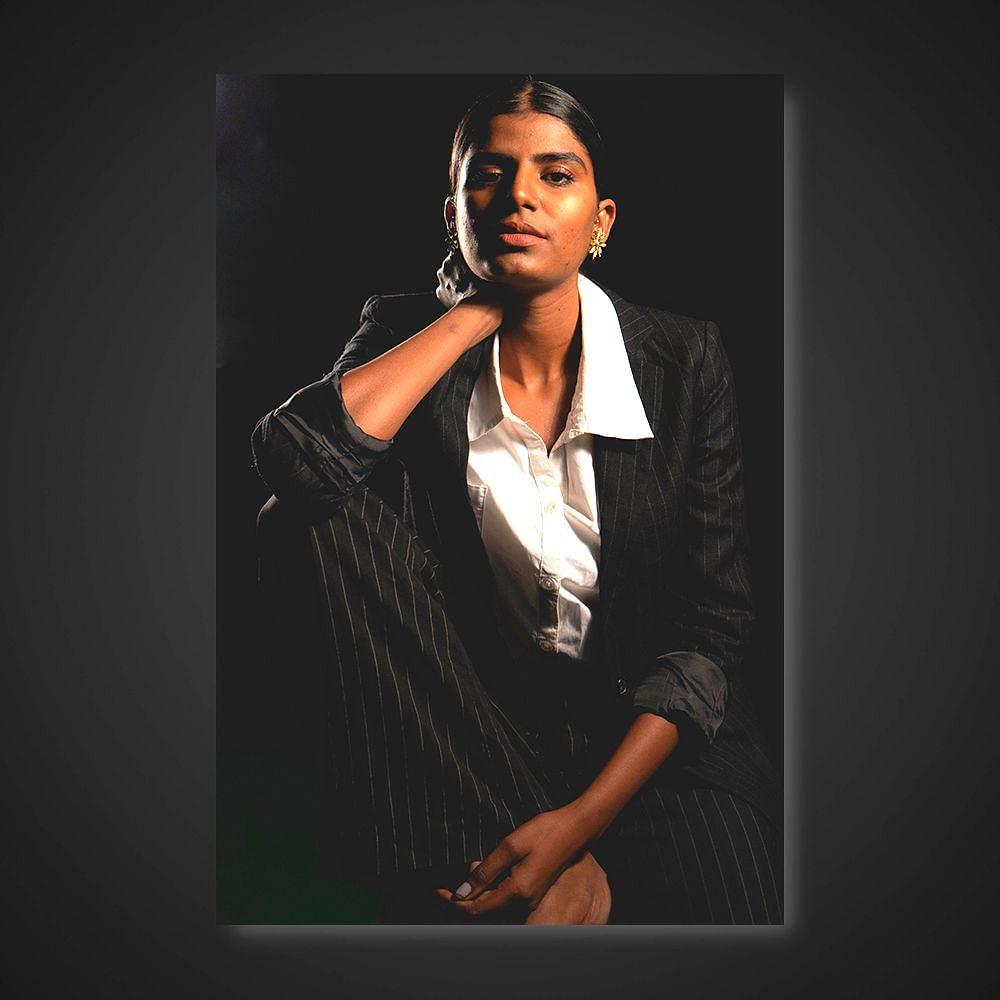 Dark is not ugly, says Sangeeta Gharu.