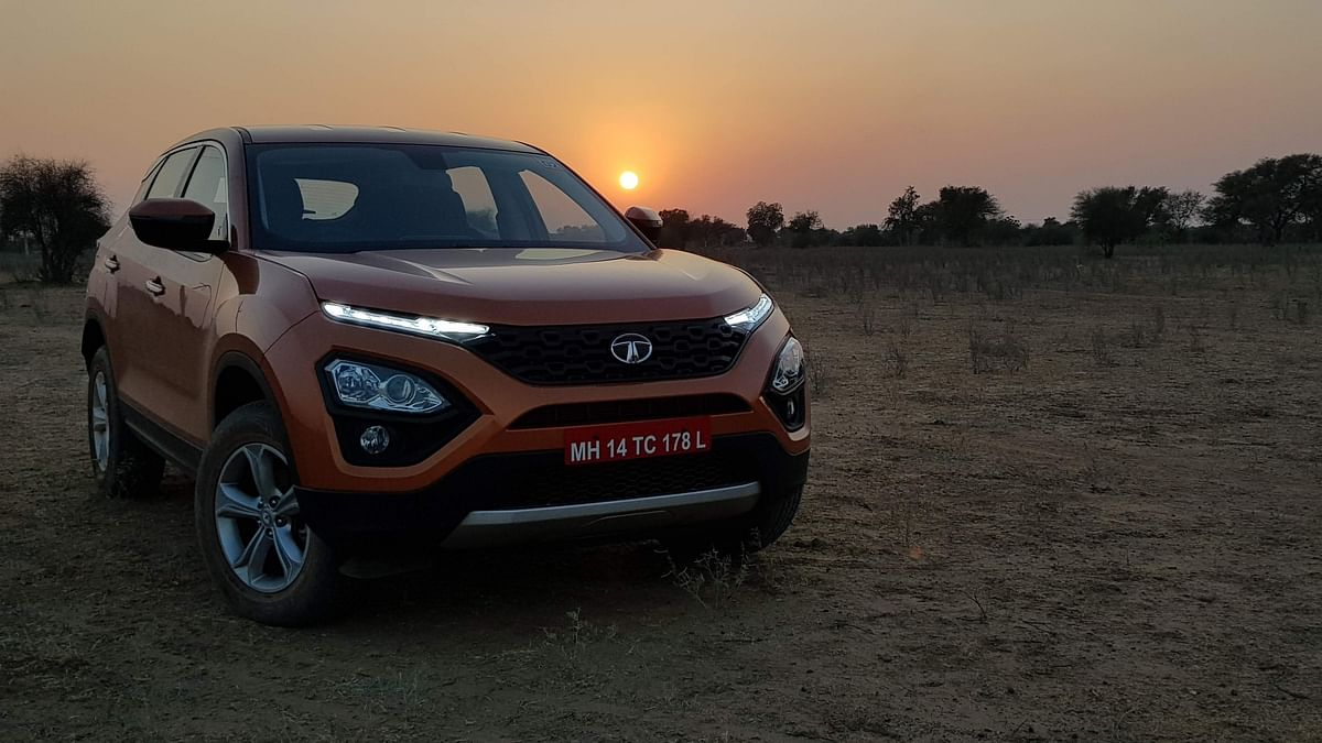 Tata Harrier Launched In India, Prices Starting at Rs 12.69 Lakh