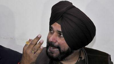 File photo of Punjab Cabinet Minister Navjot Singh Sidhu.