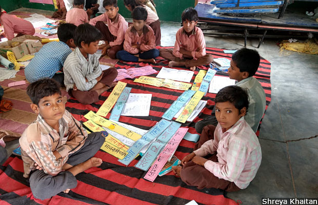 World Vision, a non-profit, runs a remedial education programme, Aparajitha, for 4,300 students in government schools in 130 villages in Lalitpur district in Uttar Pradesh.