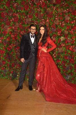 Actors Ranveer Singh and Deepika Padukone. (Photo: IANS)