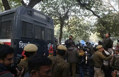 New Delhi: Arrested suspected members of a newly-traced Islamic State module module,