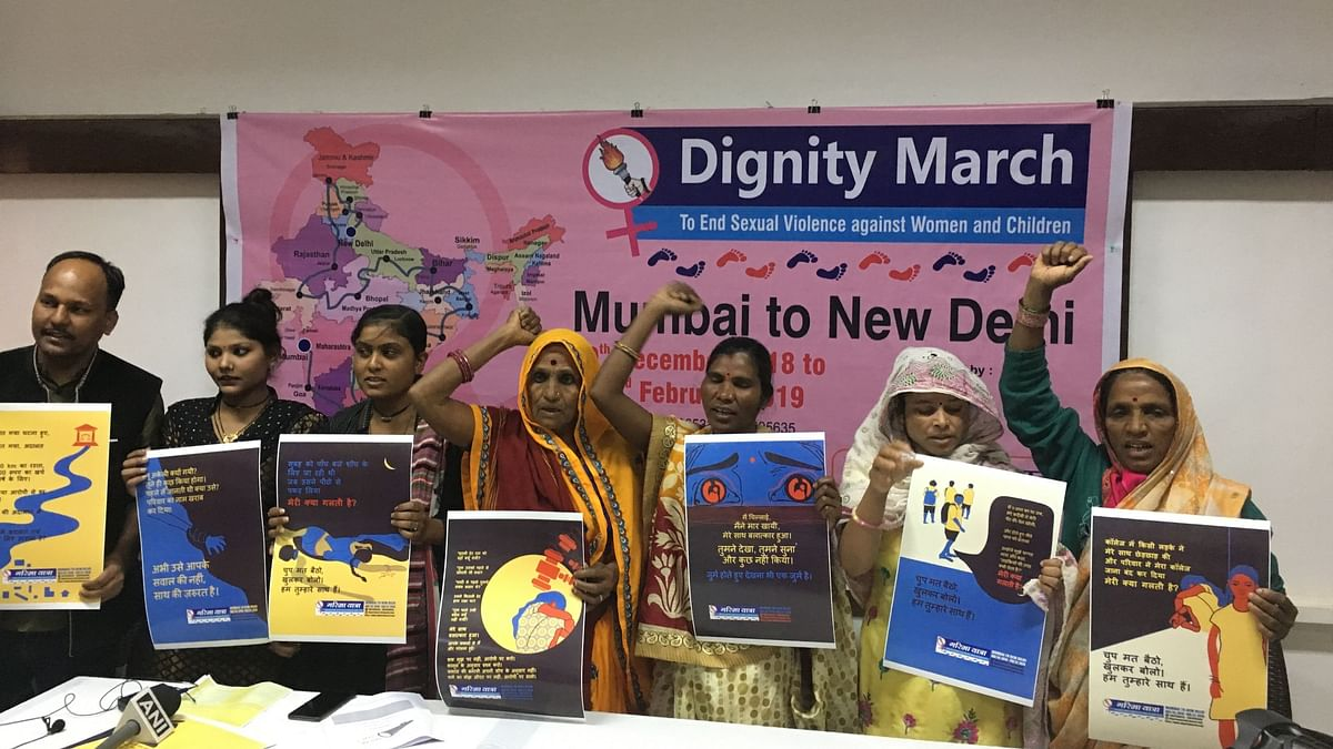 For 'Dignity March', Sexual Assault Survivors to Cover 10,000 km