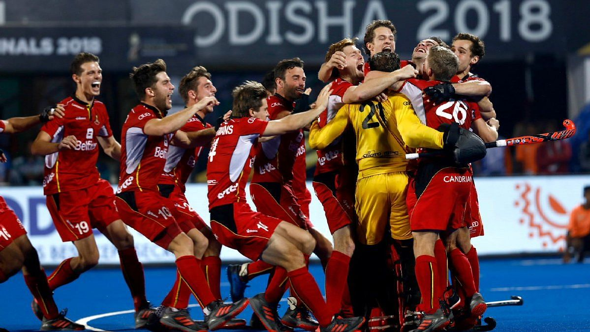 Belgium Beat Netherlands on Penalties, Lift Maiden Hockey WC Title
