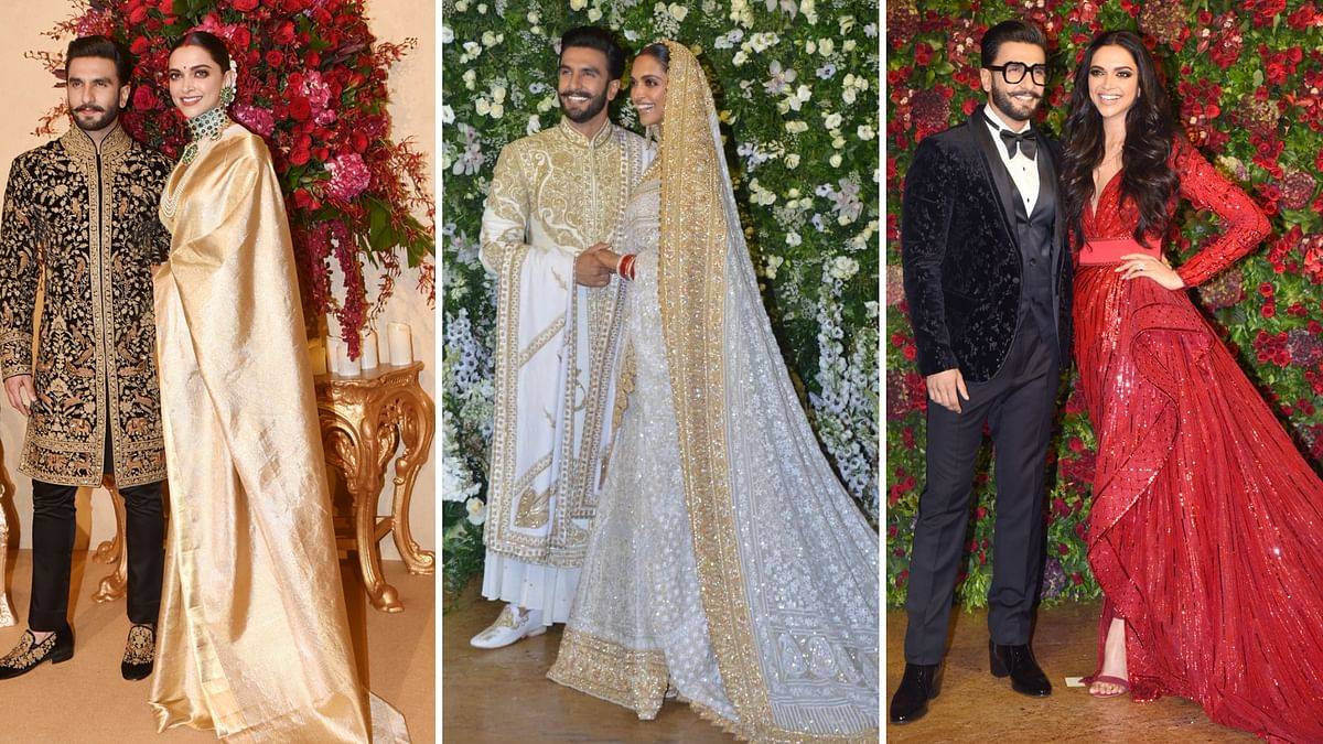 Deepika-Ranveer have had four parties between Mumbai and Bengaluru to celebrate their wedding.