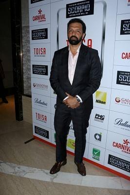 Mumbai: Fashion photographer Atul Kasbekar during Times of India Sports Awards 2017 in Mumbai on March 20, 2017. (Photo: IANS)