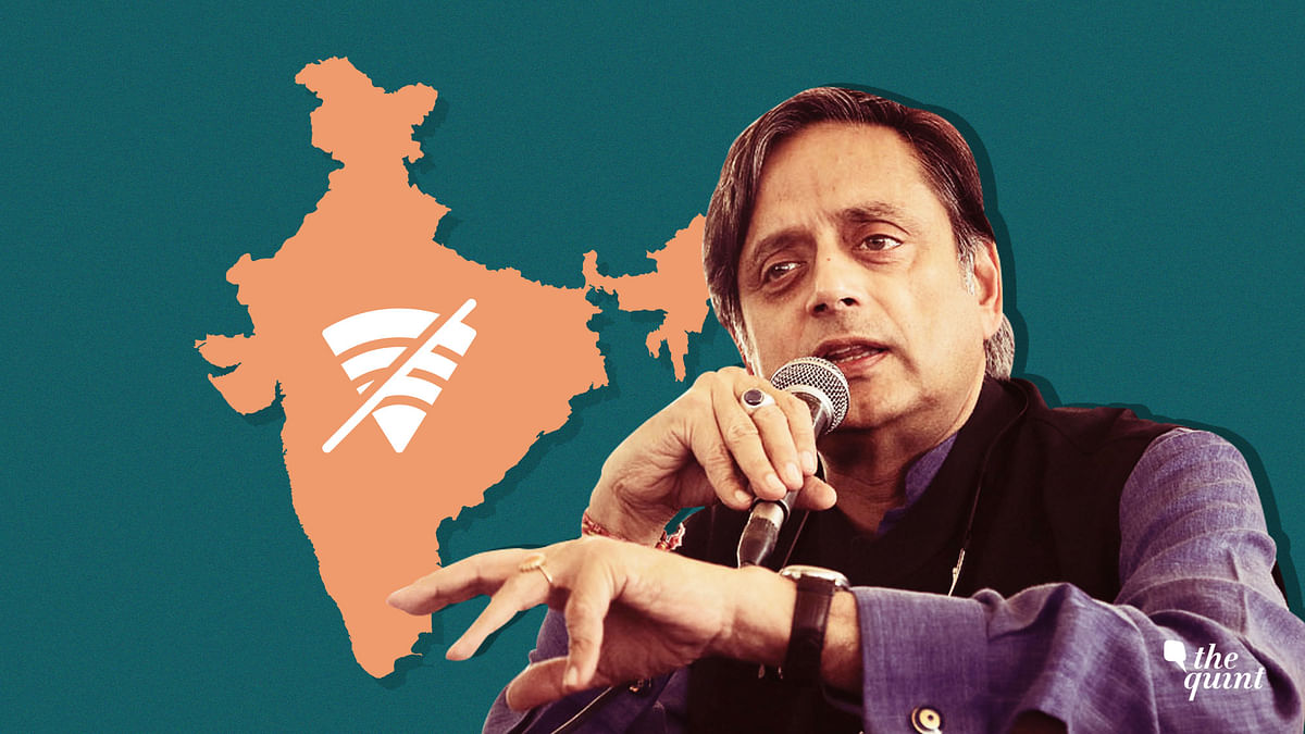 A Threat to Our Fundamental Rights: Tharoor on Internet Shutdowns