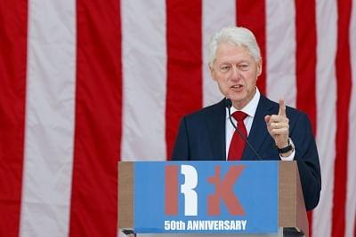 Former U.S. President Bill Clinton. (File Photo: Xinhua/Ting Shen/IANS)