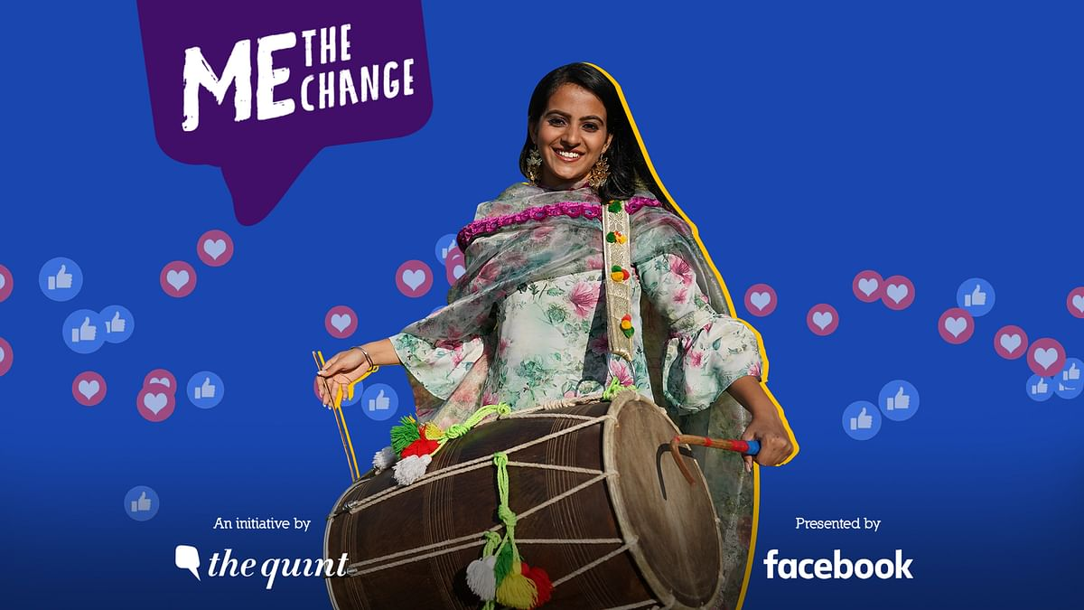 Jahan Geet Singh is India's youngest female dhol player.