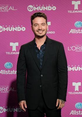 Miami: Colombian singer J Balvin arrives at Telemundo