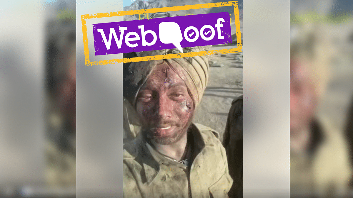 A viral video falsely claims that the men in the video are soldiers of the Indian Army.