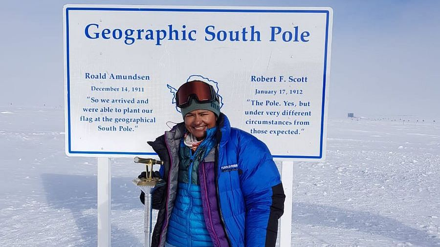 Aparna Kumar has become the first woman Indian Police Service (IPS) and ITBP officer to successfully conquer the South Pole.
