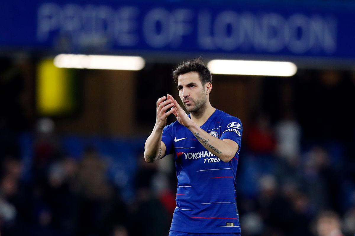 It was an emotional afternoon for Fabregas, who likely played his last game for Chelsea.