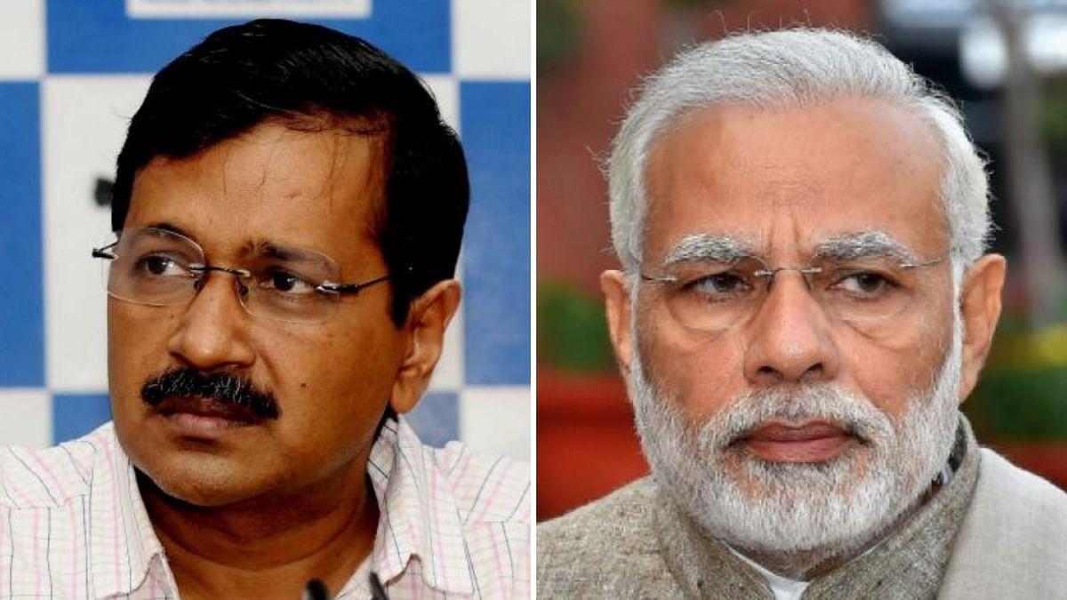 Delhi Chief Minister Arvind Kejriwal said that people should vote for the AAP as they built schools for them and not the BJP.