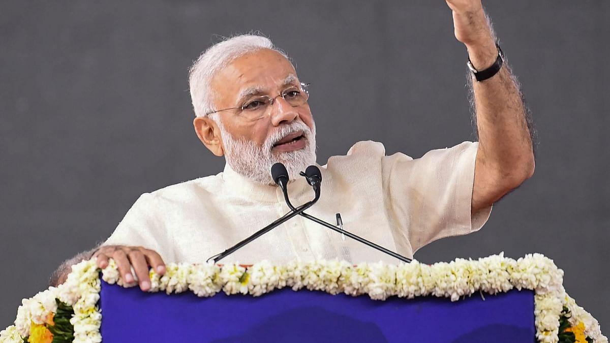 In Gujarat, PM Modi Bats for Majority Govt, Defends Demonetisation