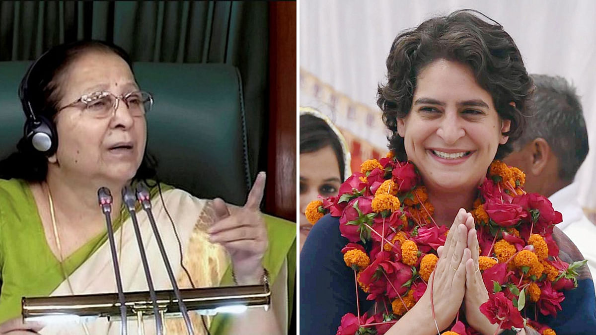 Oppn Slams Sumitra Mahajan's 'Political' Remark on Rahul-Priyanka