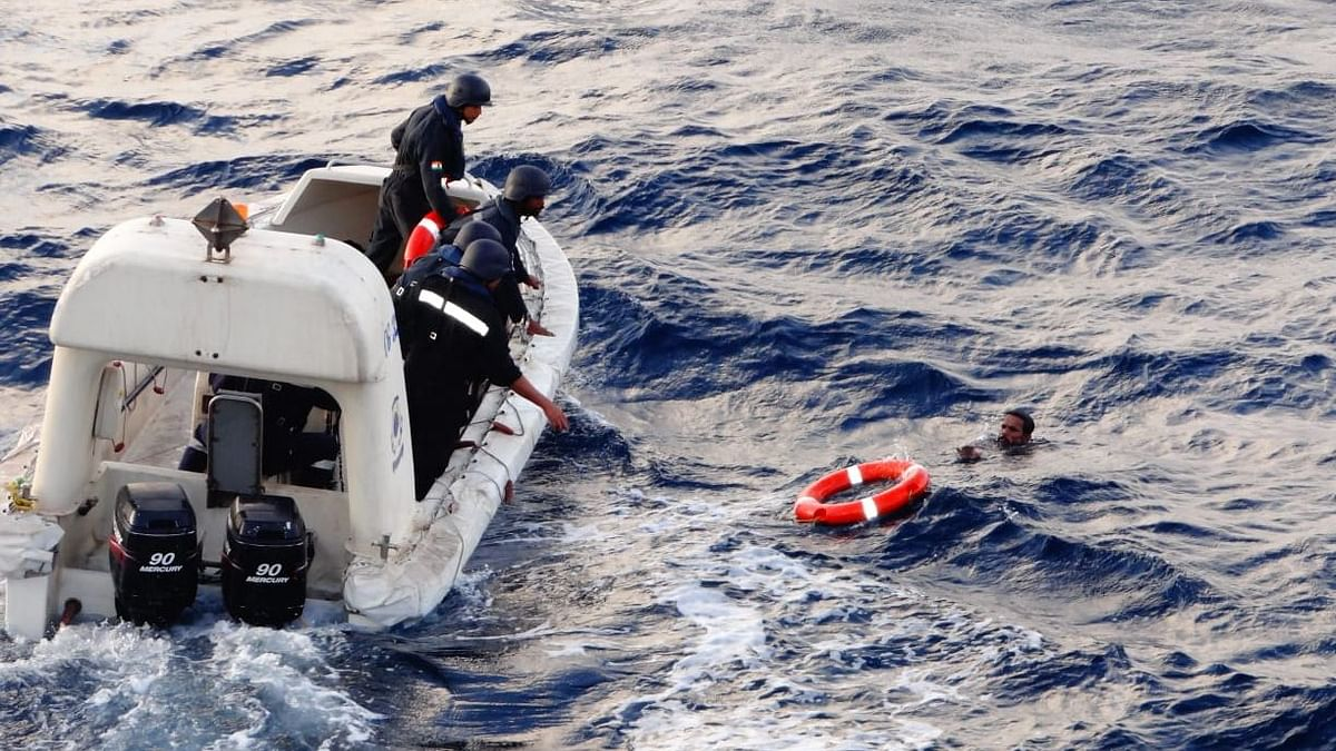 Fisherman rescued after eight hours at sea in Tamil Nadu
