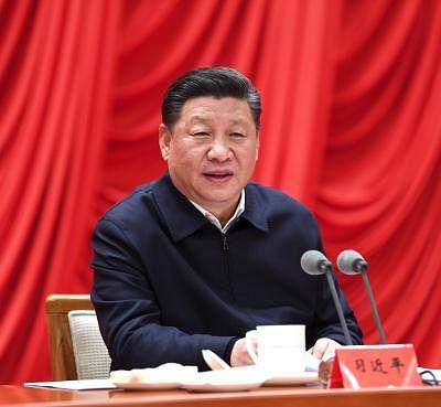 Chinese President Xi Jinping. (Xinhua/Rao Aimin/IANS)
