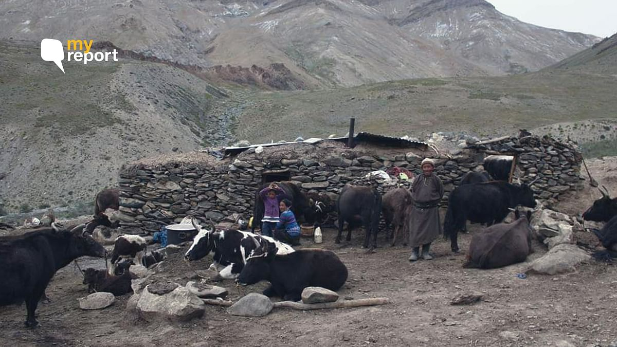 Rallakung and Shun Shaday in Zanskar sub-division of Kargil district are waiting for road connectivity to the village.