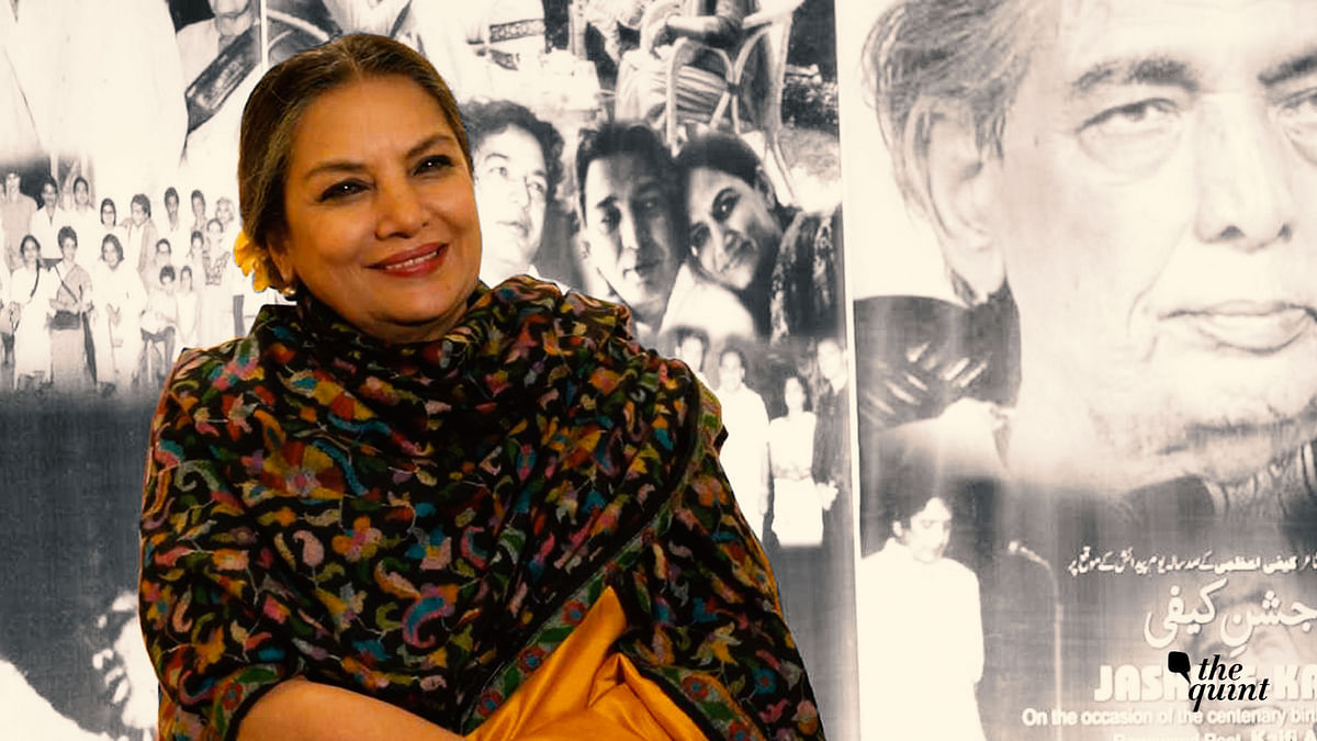 Kaifi Was a Leader Who Spoke to the Masses: Shabana Azmi