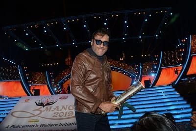 Mumbai: Actor Jackie Shroff at Umang Awards 2019 in Mumbai on Jan. 27, 2019 (Photo: IANS)