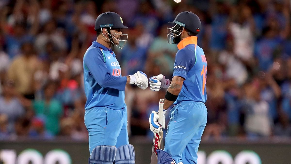 Kohli, Dhoni Carry India to 6-Wicket Win, Level ODI Series vs Aus