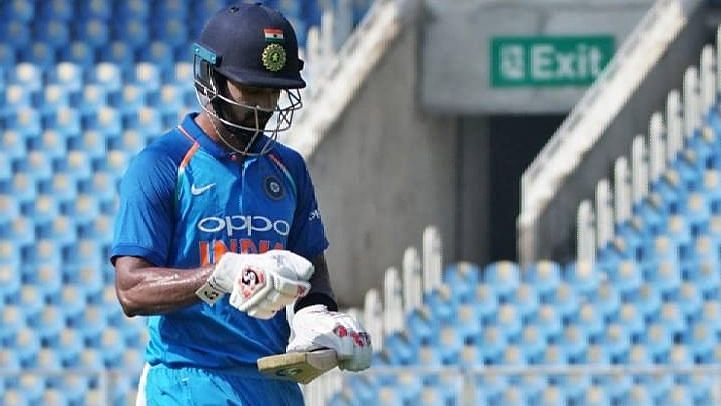 KL Rahul Scores 13 on Return For India A vs England Lions