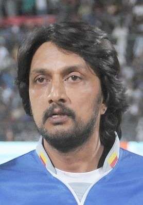 Bengaluru: Actor Sudeep whose residence is being raided by Income Tax officials in Bengaluru, on Jan 3, 2019. (File Photo: IANS)