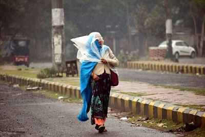Winter chill returns in UP after overnight rain. (File Photo: IANS)