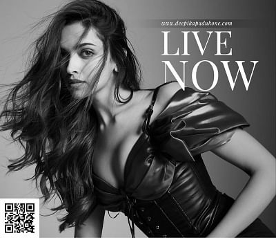 Actress Deepika Padukone launched her own website - deepikapadukone. com on the occasion of her birthday.
