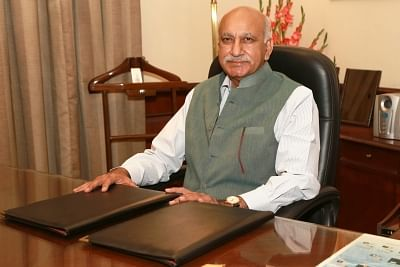 M.J. Akbar. (File Photo: IANS)