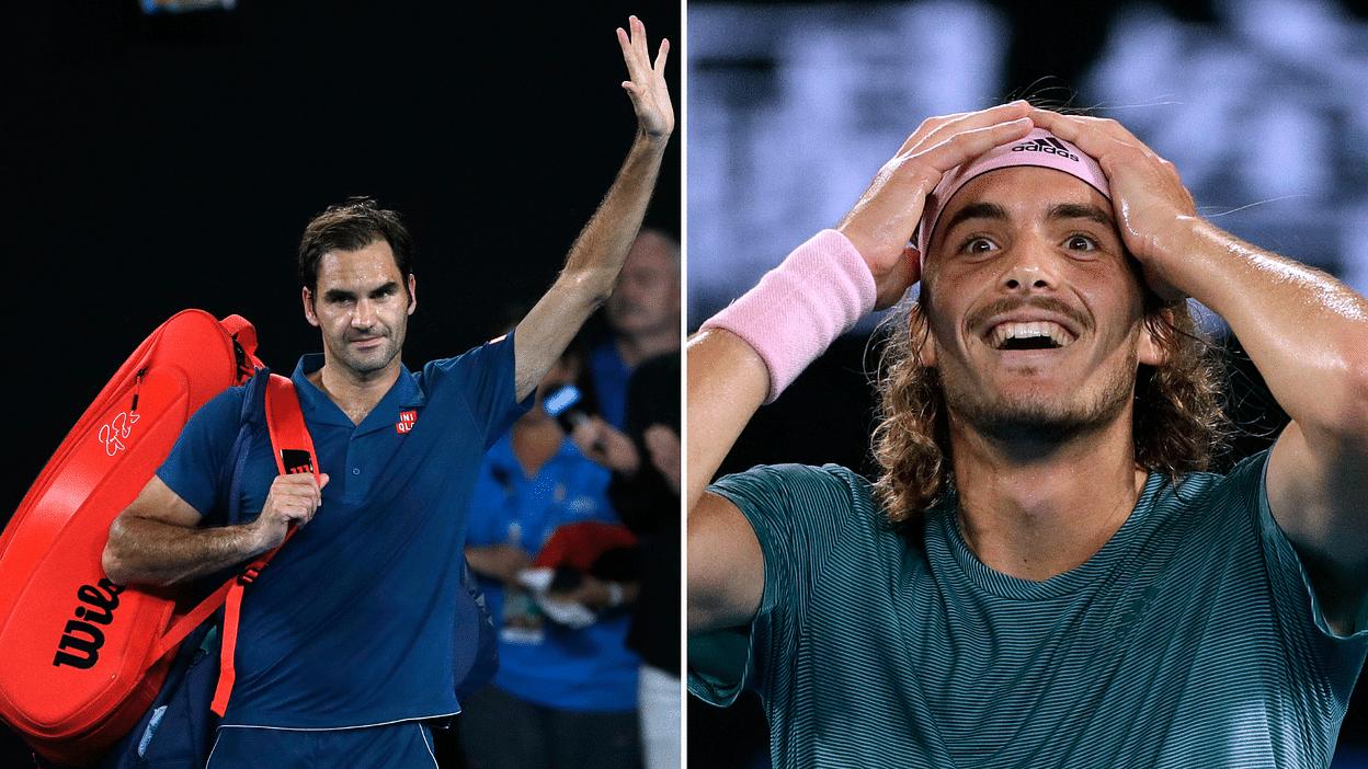 Tsitsipas Beats Federer Tennis World Reacts To Giant Upset At The Australian Open