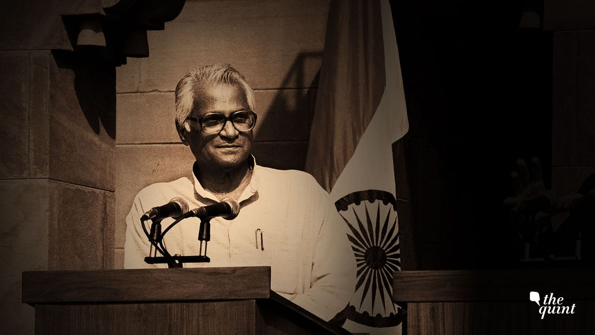 File photo of Union minister George Fernandes.