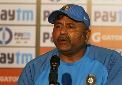 Indian bowling coach Bharat Arun.