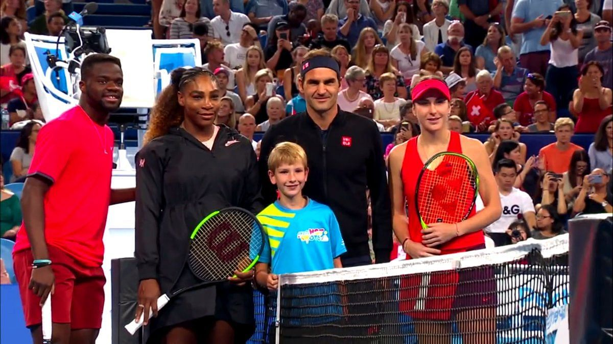 Roger Federer, Serena Williams and Rafael Nadal will headline an exhibition match ahead of the Australian Open to raise money for bushfire relief.