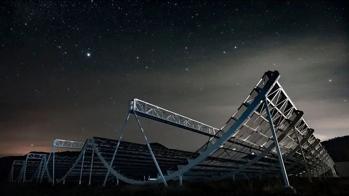 The CHIME telescope in British Columbia will search our universe for phenomena such as fast radio bursts (FRBs), pulsars and more. Image used for representational purposes.