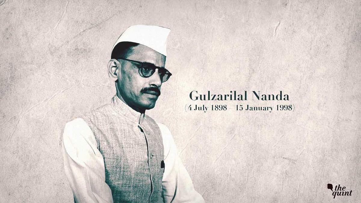 Former Prime Minister Gulzarilal Nanda