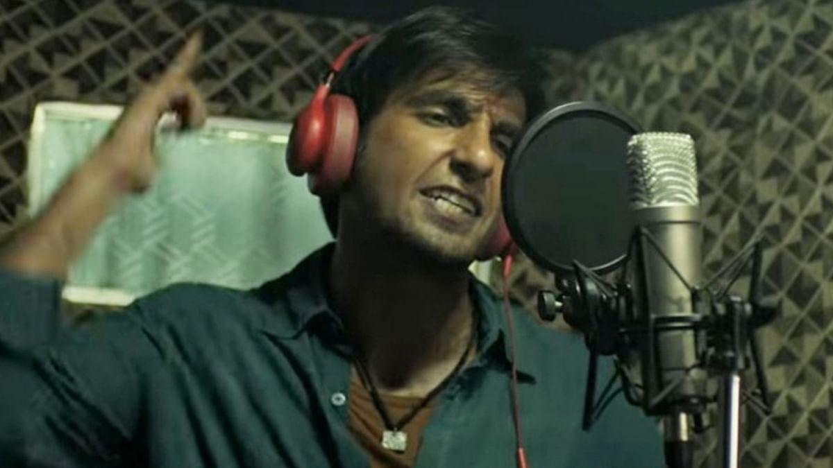 Ranveer Singh in a still from <i>Gully Boy</i>.